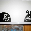 monster vinyl wall decals