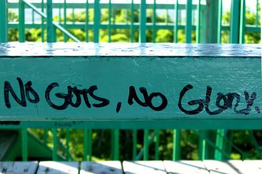 No Guts No Glory by Michelle Christina