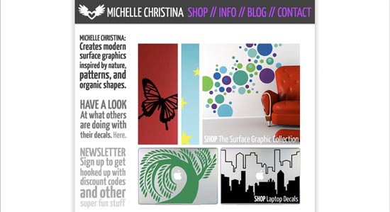 michelle christina website 1