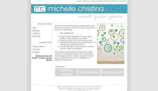 michelle christina website 2