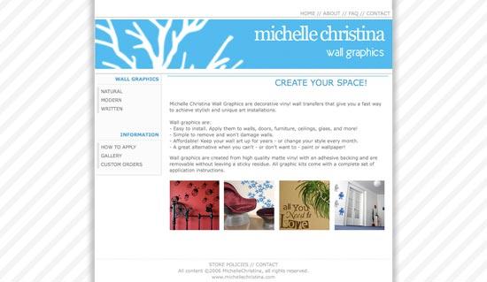 michelle christina website 3