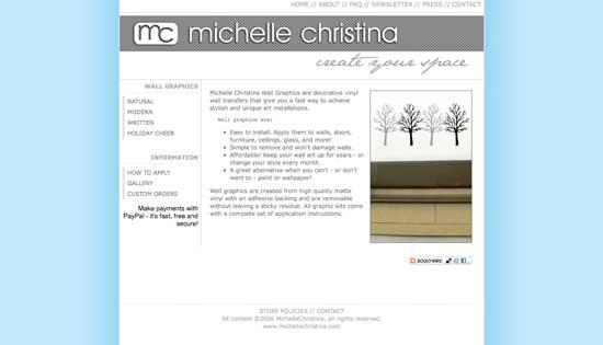 michelle christina website 4