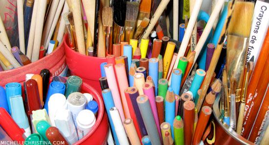 Michelle Christina Art Studio Supplies