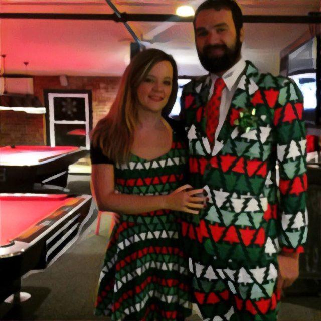 Holiday Stylin workparty fashionable christmasy yeswedid bamlab
