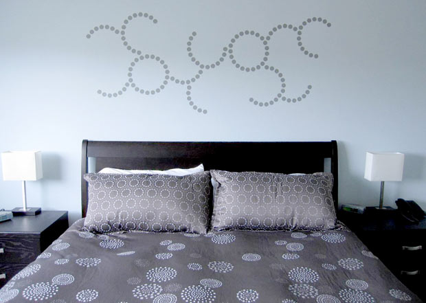Curve Wall Decal By Michelle Christina