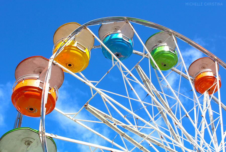 deerfield fair nh carnival rides by michelle christina